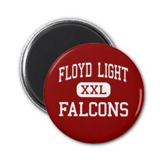 Floyd Light   Falcons   Middle   Portland Oregon Refrigerator Magnets