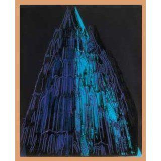 Andy Warhol Kölner Dom Poster Kunstdruck mit Holz Rahmen in Buche