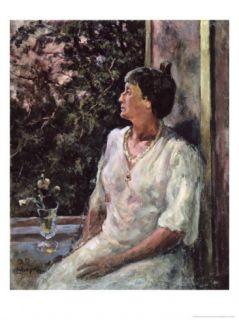 Portrait of Anna Akhmatova, c.1939 Giclee Print by Alexander Alexandrovich Osmiorkin