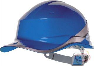 Bauhelm Schutzhelm Helm * BASEBALL Design* BLAU
