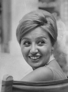 Portrait of Maria Scicolone, Sister of Actress Sophia Loren Premium Photographic Print