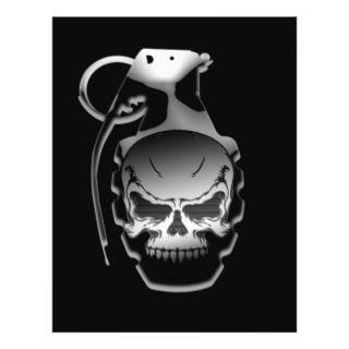 Skull Grenade Flyers
