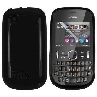 mumbi TPU Silikon Case Nokia Asha 201 Silicon Tasche
