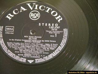 ELVIS PRESLEY Double Trouble 1.dt. Press. 1967 schwarzes RCA Label