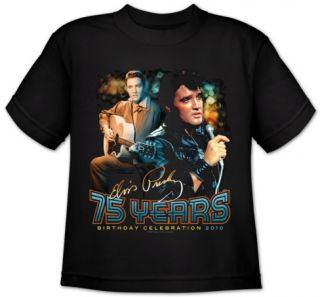 Youth Elvis 75 Years T Shirt