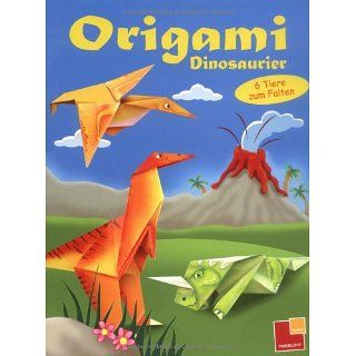 Origami Dinosaurier 6 Tiere zum Falten Bücher