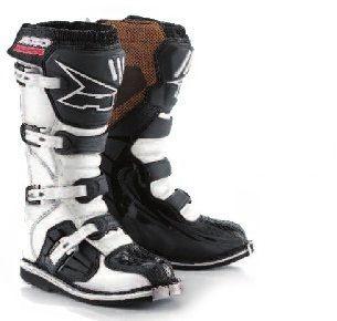 AXO DRONE Ex Boxer MX Cross Motocross Enduro Stiefel Gr. 43 Mod. 2013