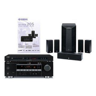 Yamaha AV PACK 205 Kompaktanlage schwarz Elektronik