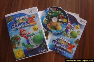 Super Mario Galaxy 2 Nintendo Wii Spiel Neuwertig