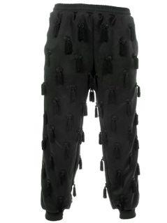 Herren Adidas Trefoil Logo Jeremy Scott Quasten Training Hose Jogger