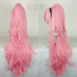 VOCALOID MIKU COSPLAY Wig Perücke Kostüme neu top pink