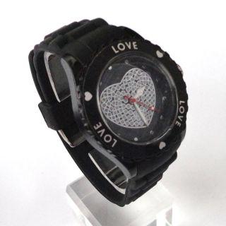 13 Farben Armbanduhr Love Heart Rad Schmuck Unisex Herrenuhr Damenuhr