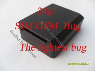 Neu Monitor BUG kleinste GSM SIM Karte Spy Ear Mini Bug