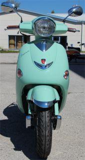 Retroroller 50ccm Motorroller Mint Grün Lintex Salsa Hodi R02 4