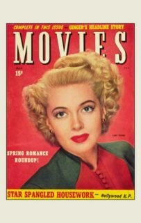 Lana Turner   Movie Magazine Cover 1930s Masterprint