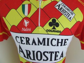 RAD Trikot Ceramicha Ariostea (5) Nalini Cycling Jersey Maillot Maglia