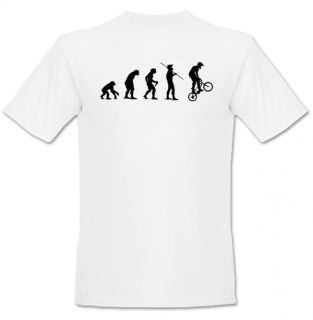 BMX Bike Evolution Of Man T Shirt S M L XL 2XL 3XL New