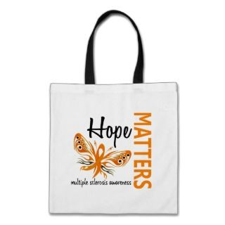 Hope Matters Butterfly Multiple Sclerosis Bag