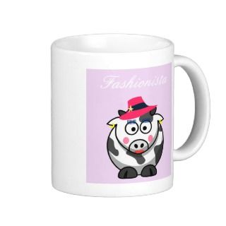 Fashion Cow Coffee Mug