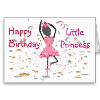 Happy Birthday Little Princess card