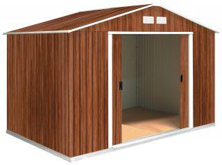Tepro Metallgerätehaus Gerätehaus Wood Typ G in Holzoptik