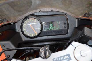 Hyosung GT 125 R E3, EZ 9.5.2007, 22.911 km, TÜV 3.2013, inkl. 80 km