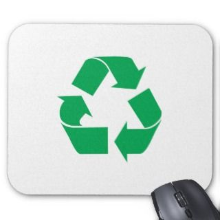 Recycle Logo Mouse Pads