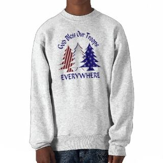 God Bless Our Troops Sweatshirts