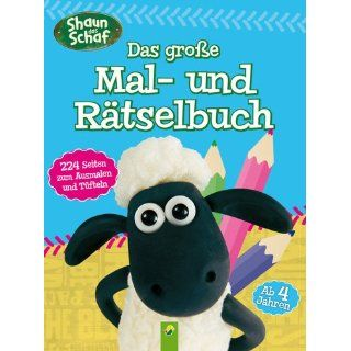 Shaun das Schaf   Das große Mal  und Rätselbuch 224 Seiten zum