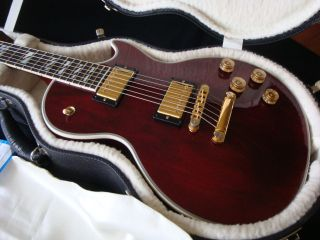 Gibson Les Paul Supreme Winered Luxury LP Cusom Gold Fres