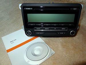 RCD 310 VW Golf 6  Radio CD Autoradio Code Anleitung Passat Polo