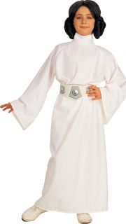 Princess Leia Star Wars Girls Fancy Dress Space Costume