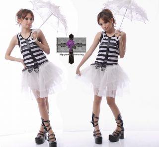 Gothic Lolita White Innocent Soft Lace Layer TUTU Skirt