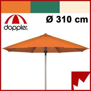 Alu Sonnenschirm DOPPLER Derby Automatic 310 freie Farbwahl