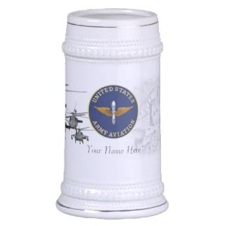 Army Aviation UH 60 Blackhawk Beer Stein Mugs
