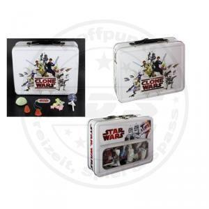 Star Wars Candy Tin Metall Box Alu Koffer Dose mit Suessigkeiten