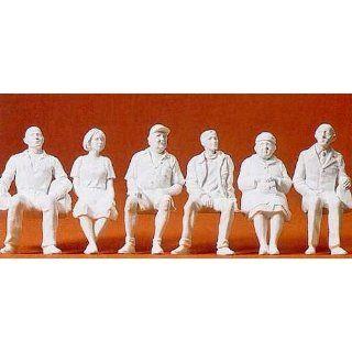 Preiser 45183 Sitzende Reisende. 6 Figuren Spielzeug