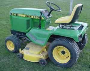 JOHN DEERE TECHNICAL MANUAL 316 318 420, 426 pgs ON CD