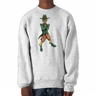 Evil Leprechaun Pullover Sweatshirt