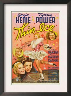 hin Ice, Sonja Henie, yrone Power, Arhur reacher, Joan Davis, 1937 Prins