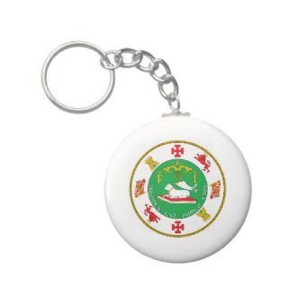 Puerto Rico Seal Key Chains