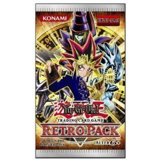 Yu Gi Oh Booster   Retro Pack 8er Box dt. Spielzeug