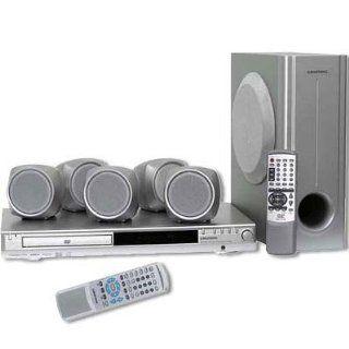 Grundig Cinemo DR 4500 DD Heimkinosystem mit DVD