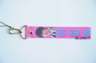 Lee Min Ho Pink Wrist Strap Lanyard for Mobile /Cell Phone O1