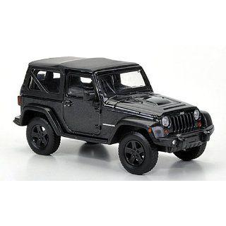 Jeep Wrangler Rubicon Soft Top, schwarz, 2012, Modellauto