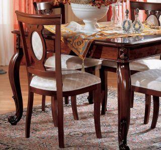Stuhl Polsterstuhl Esszimmer Canova Stilmöbel Italien Klassik
