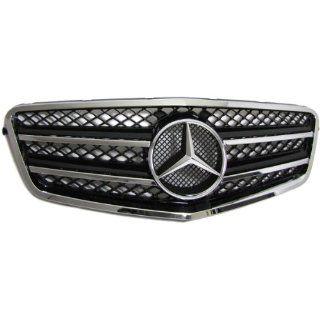 Mercedes E Klasse W212 SPORT KÜHLERGRILL AMG LOOK GRILL SCHWARZ CHROM