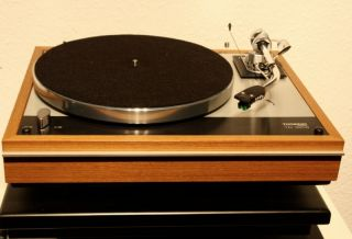 Thorens TD 160 B + SME 3009 Serie II improved + neues Audio Technica