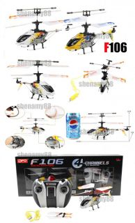 4CH F106 Infared RC Dragon GYRO USB Helicopter NEW TOY