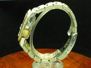 ROLEX SUBMARINER 18kt GOLD / EDELSTAHL AUTOMATIC HERREN UHR INKL. BOX